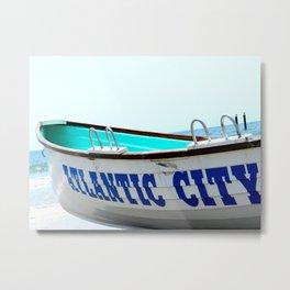 Atlantic City Metal Print