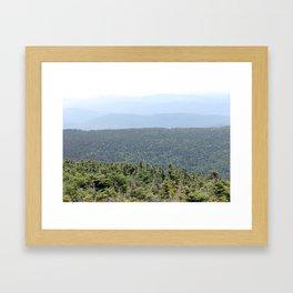 Layerscape Framed Art Print