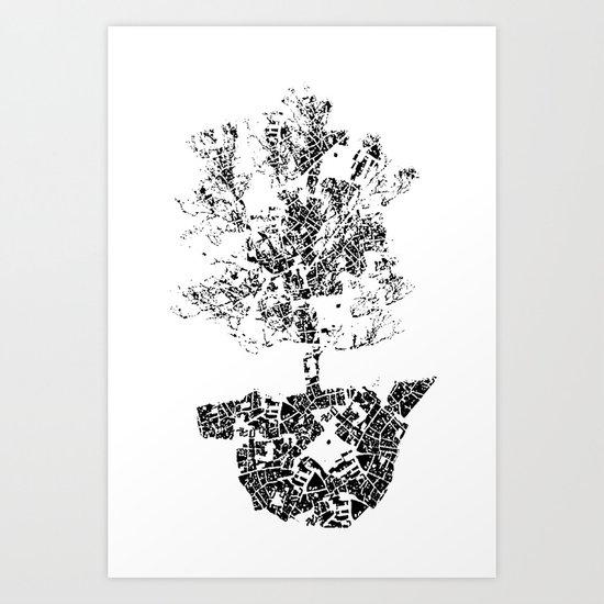 Planted.. Art Print