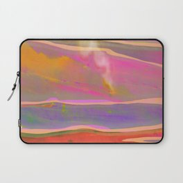 Adventure in the Volcanic Lands - Fumarole Laptop Sleeve