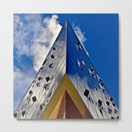 When music touches the blue sky Metal Print