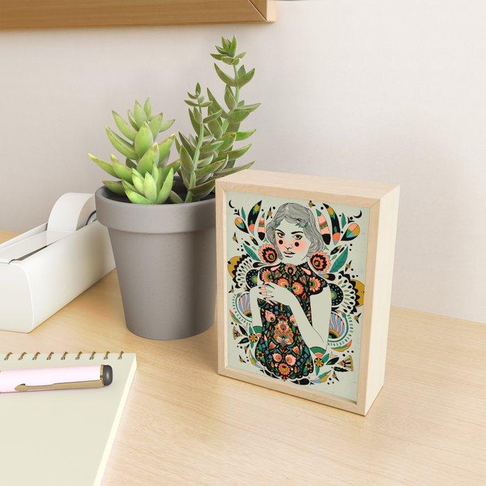 A Future Bright Framed Mini Art Print