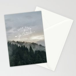Slow Down & Go Outside - Mount Tamalpais Stationery Cards