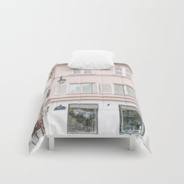 Pink house Comforters