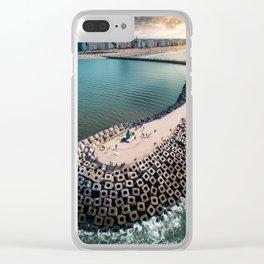 Coast of Belgium Clear iPhone Case