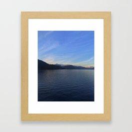 Ocean Calm I Framed Art Print