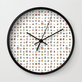 Fill Up A Cup Wall Clock