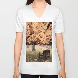 Contemplation, Open To Silence Unisex V-Neck