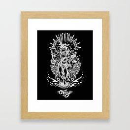 West Kali Framed Art Print