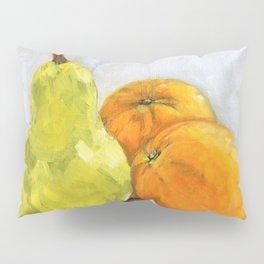 Still life - Pear and Oranges Pillow Sham