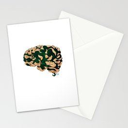 Tentacled Brain Stationery Cards