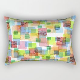 Square Dance Rectangular Pillow