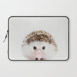 Bubble Gum Hedgehog Laptop Sleeve