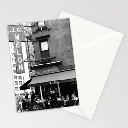 JG Melon, Upper East Side, New York City Stationery Cards