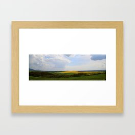 Colza 2 Framed Art Print