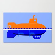 Submerigible Canvas Print