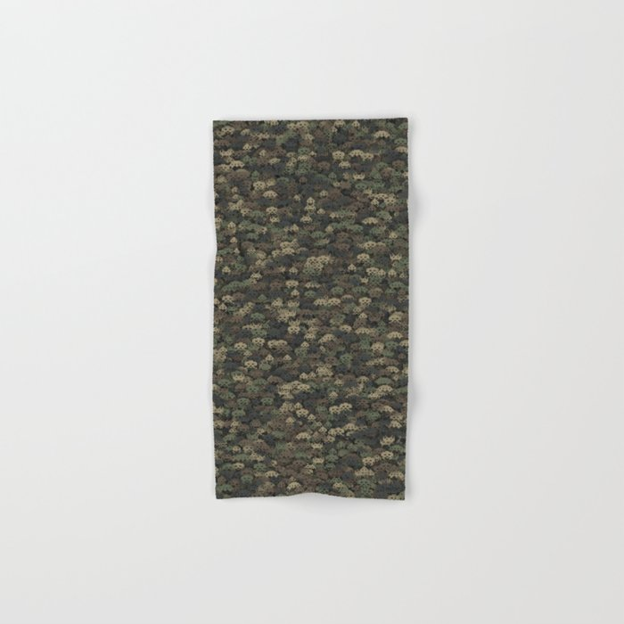 Invaders camouflage Hand & Bath Towel