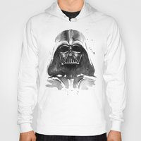darth vader Hoodies featuring Darth Vader by Olechka