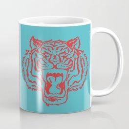 Pop Art Style Tiger Coffee Mug