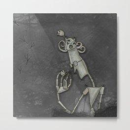 The Bird Man Metal Print