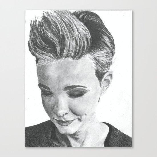 Carey Mulligan Canvas Print