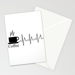 Cardiac Coffee Stationery Cards