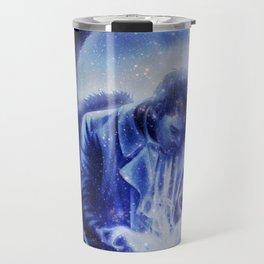 Angel in Blue Travel Mug
