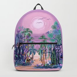 The Eyes of the Enchanted Misty Forest Backpack