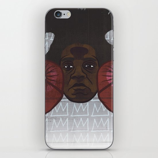 Jean-Michel Basquiat iPhone & iPod Skin