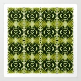 green, green, green Art Print