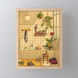 Bathroom Framed Mini Art Print