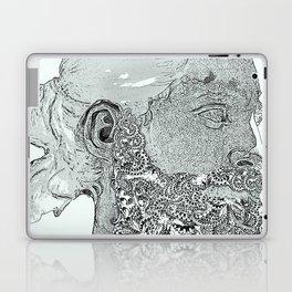 Hipster Neptune - Marble Laptop & iPad Skin