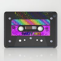 tape iPad Cases featuring CASSETTE TAPE by Lazy Bones Studios