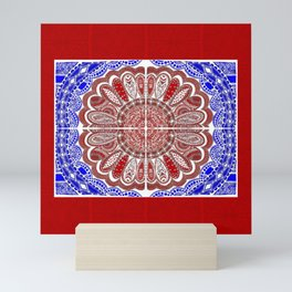 RWB Bandanna Mini Art Print