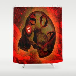 ANARCHY - 005 Shower Curtain