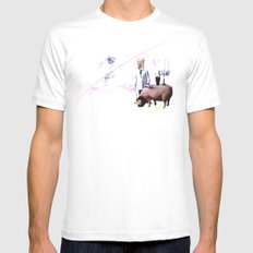 McPig Mens Fitted Tee White SMALL