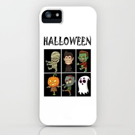 Halloween horror iPhone Case