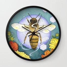 Spirit of the Bee Wall Clock