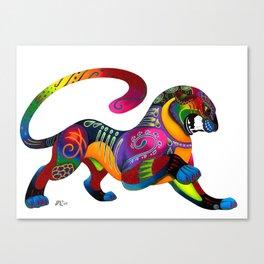 Oaxacan Big Cat Canvas Print