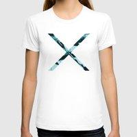 aqua T-shirts featuring Aqua by RaviusKiedn