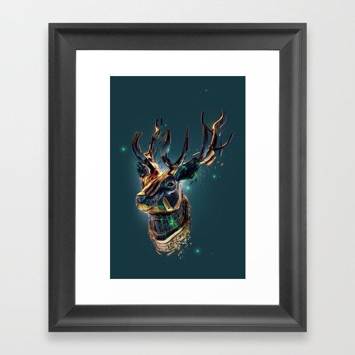 Manimals - Scythian Framed Art Print