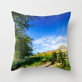 Roseberry Pass Throw Pillow
