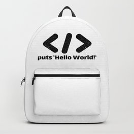 Hello World Backpack