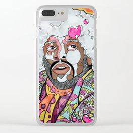 Pop Hendrix Clear iPhone Case