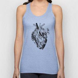 Heart of a stylist Unisex Tank Top
