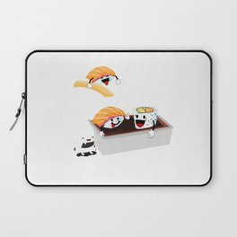 Sushi Poolparty funny Japanses Food Rice and Fish present gift Laptop Sleeve