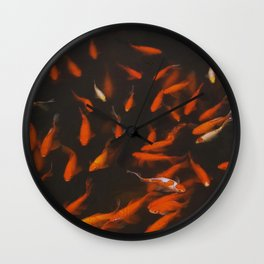 FORBIDDEN FISH Wall Clock