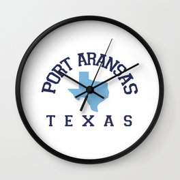 Port Aransas Texas. Wall Clock