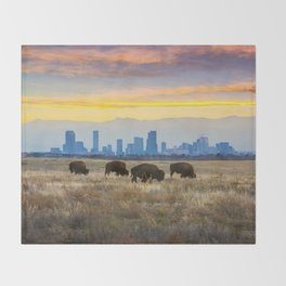 City Buffalo Throw Blanket