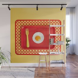 Egg tray Wall Mural